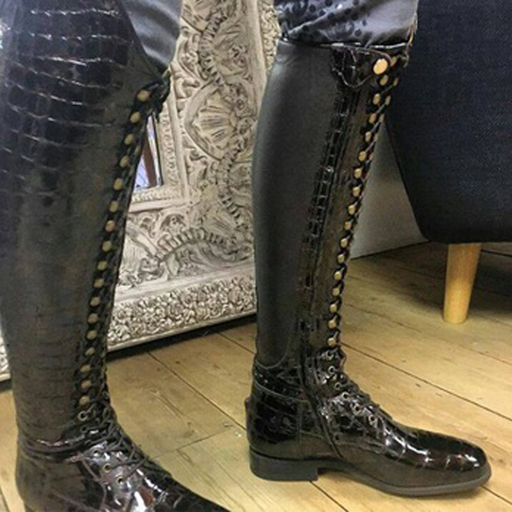 Men's Horse Riding Long Boots/leather