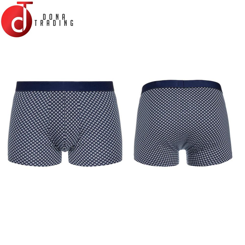 Boxers Sensible 1pc Men Lingerie Plus Size Printing Men Boxer Comfortable U-shaped Pouch Seamless Short Legs Men Underwear Newest
