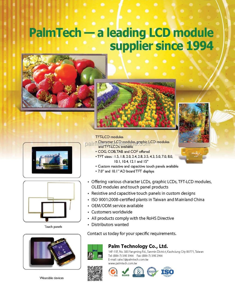 Taiwan Based Leading Lcd Supplier 320x240 Graphic Type 1/240 Duty - Buy  320x240 Graphic Type 1/240 Duty,Taiwan Based Leading Lcd Supplier 320x240