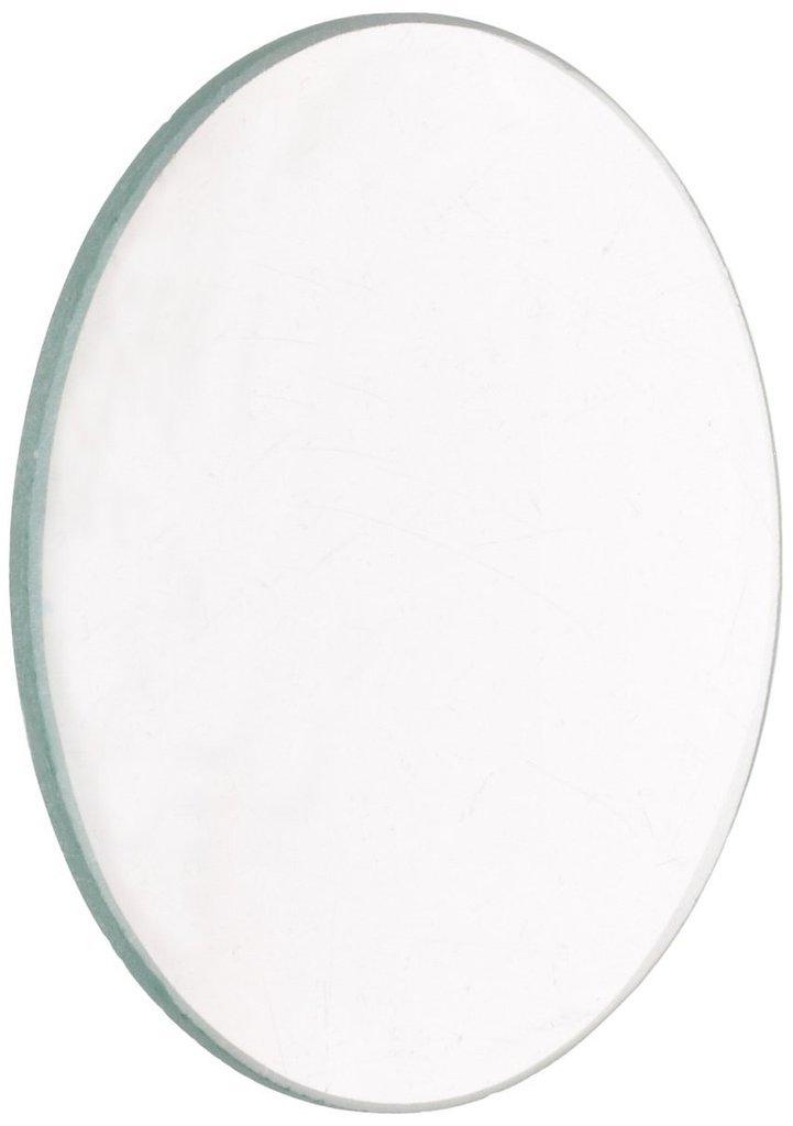 Bi-convex 500mm Focal Length Ajax Scientific Polished Glass Double Lenses Spherical 38mm Diameter