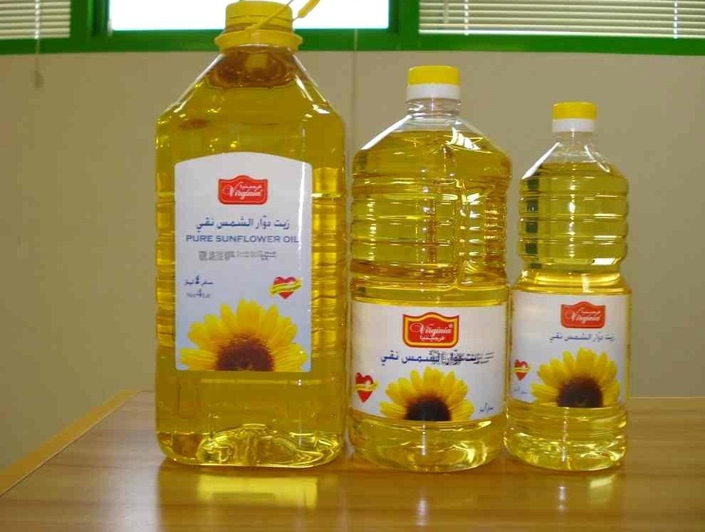 Refined Sunflower Oil/Crude Degummed Sunflower Oil/Deodorised Sunflower Oil