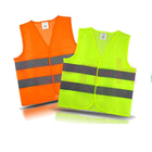 Class 2 Hi-viz Security Uniform Reflector Tape Security Jacket Safety Reflective Vest with Logo