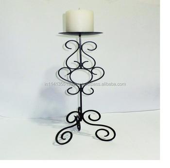 Wrought Iron Floor Standing Candle Holder Buy Wrought Iron Floor