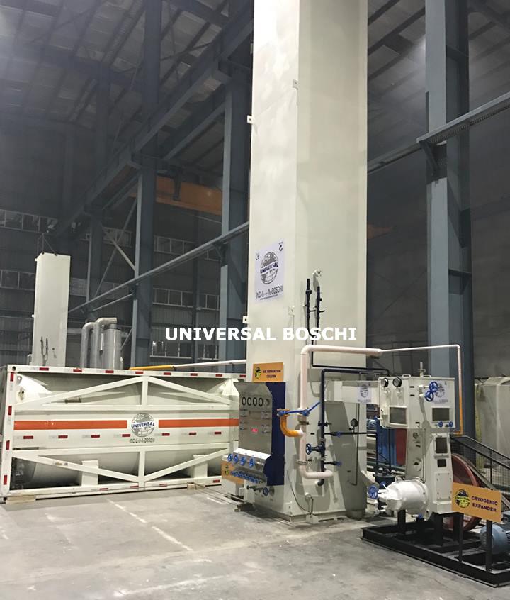 Liquid Oxygen and Nitrogen Production Plant