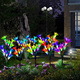 Patio lawn Garden Decorative Multi-color Changing Lily Flower Solar Waterproof Outdoor Led Stake Light