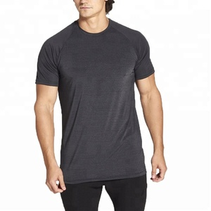 Wholesale Cheap Price Custom Mens 95% Polyester 5% Spandex Gym Wear T-shirts