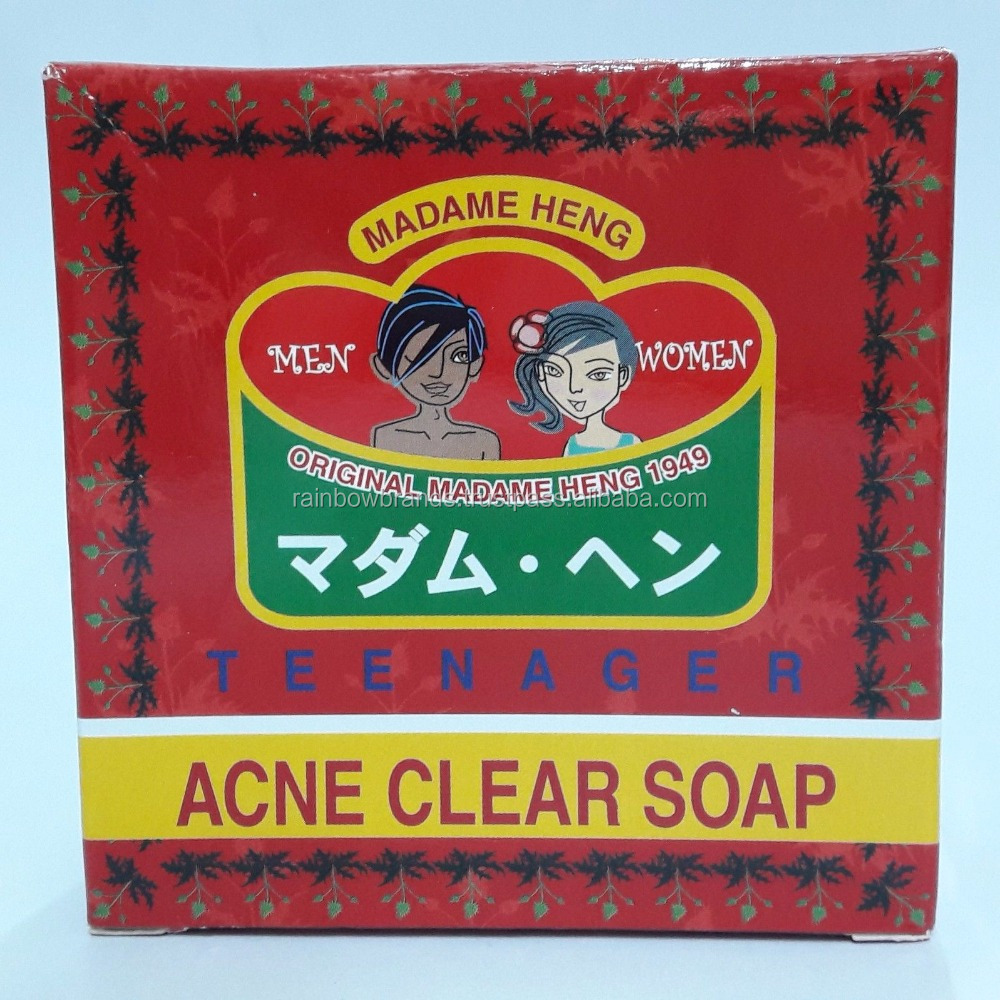Madame Heng Merry Bell Thai Herbal Soap Natural Original Acne Clear Soap