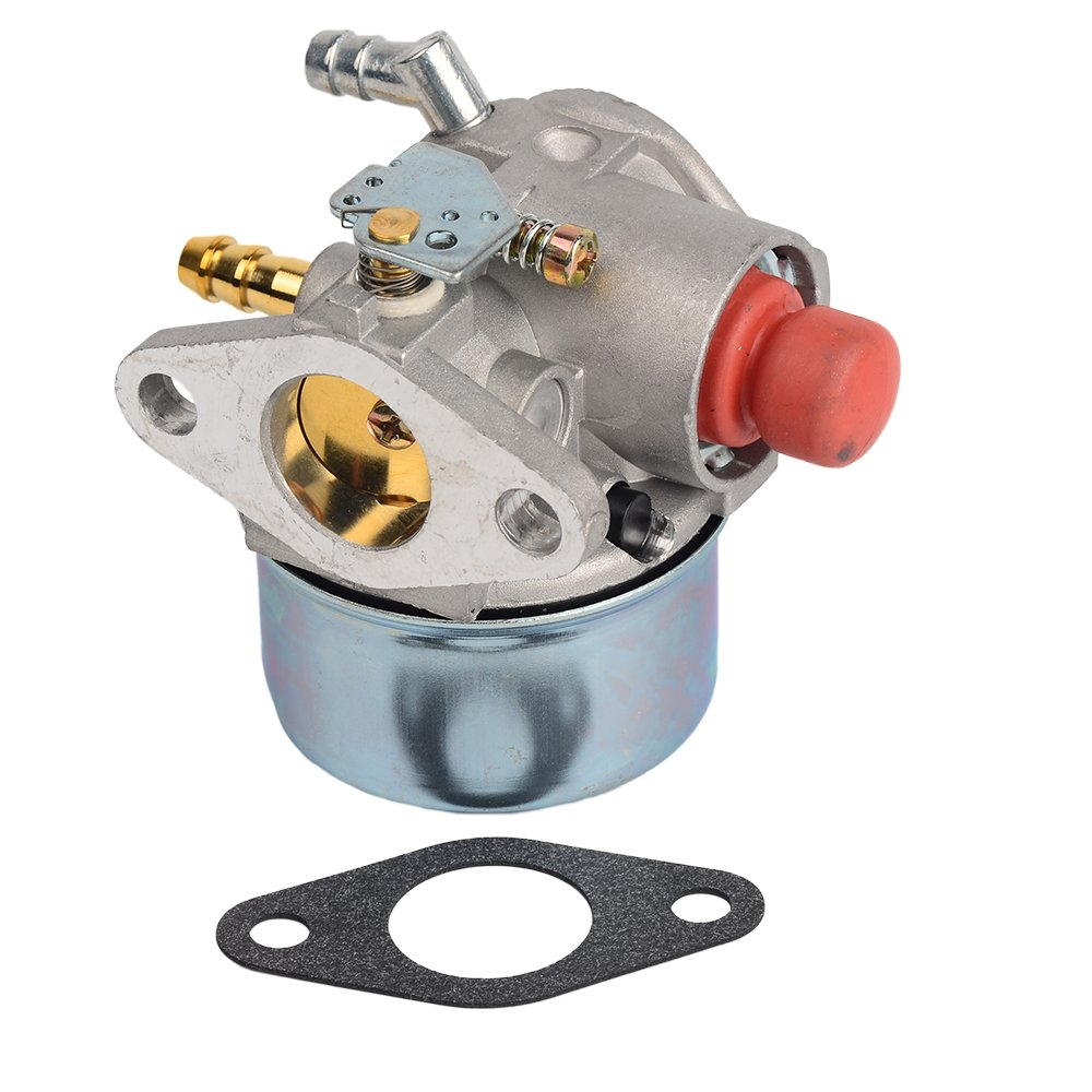 Get Quotations · HIFROM Carburetor Carb with Gasket for Tecumseh 640017B  640117 640117B 640104 Fits OHH45 OHH50 5hp 5.5