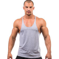 Men Sleeveless T Shirt Tank Tops Bodybuilding Muscle Shirt, Summer Shirt Gym Sports Fitness Vest