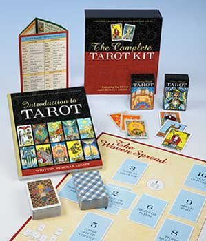 Novelty Toys Tarot Cards Beginners Complete Pack Special Edition Deck and Book Spread Sheet Boxed