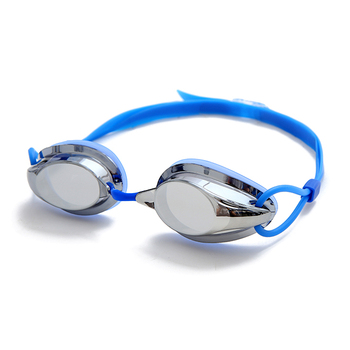 Mirrored Coating Anti Fog Custom Racing Best Swimming Goggles for Adults