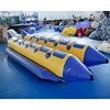 Double Tubes Inflatable Water Banana Boat With Repair Kit For Sale