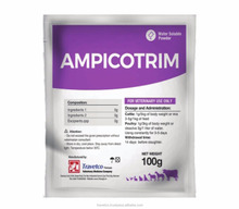 Veterinary Medicine - AMPICOTRIM - ANTIBIOTIC ( Since 1998, more 150 Products)