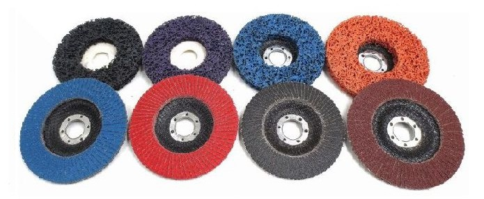 Angle Grinder Flexible grinding flap disc