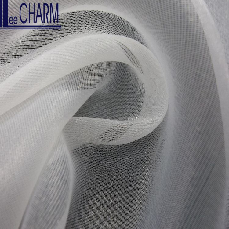 LIM008 Taiwan Bridal Wedding Dress Material Organza