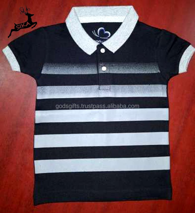 58dcb8d5a 2018 new arrival custom design boys 100% cotton polo t shirt for kids short  sleeve clothing