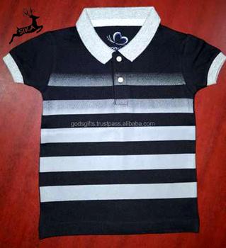 a1aca3cf0af2 2018 new arrival custom design boys 100% cotton polo t shirt for kids short  sleeve