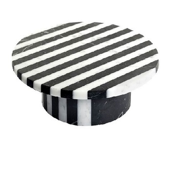 new fancy color white black cake stand