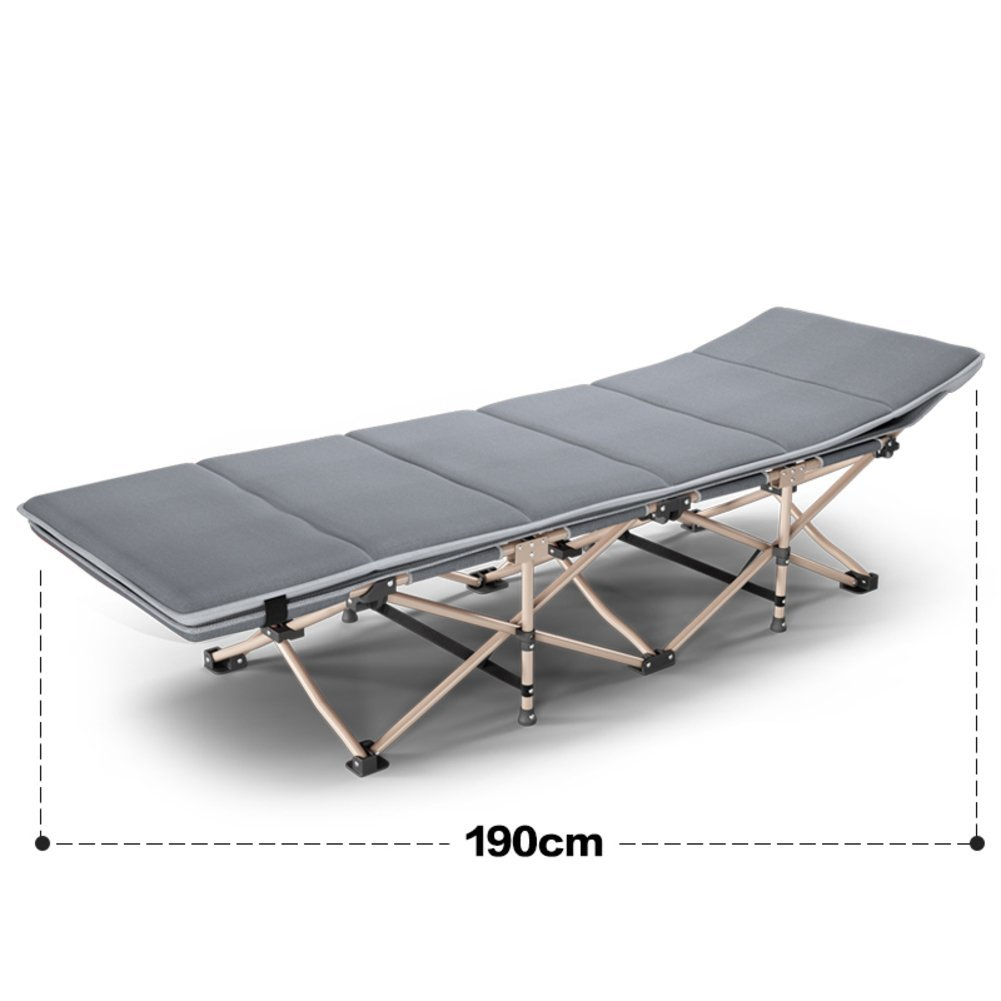 Folding Bed/Nap Bed/Single Bed/Simple Bed/Camp Bed/Portable,Individual,Bed Rest/Office Rollaway Bed-D