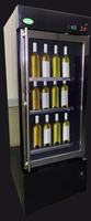 Made in Thailand Refrigerators Wine cooler 1 door (Black)