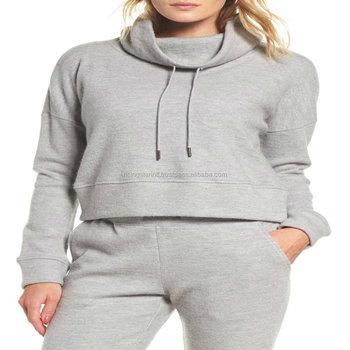numerousinvariety no sale tax matching in colour Funnel Neck Crop Sweatshirt Ladies Sweat Suits - Buy Ladies Winter Designer  Sweat Suits,Ladies Sweat Suits Your Own Style,Fashion Women Unique Sweat ...