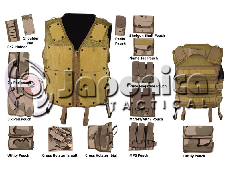 Molle System Military Tactical Multi Pouches Vest Police Duty Vests Army  Combat Assault Vests - Buy Cheap Price Military Vest,Molle Tactical Mesh