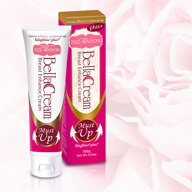 Bella Creme Do Realce Natural do peito