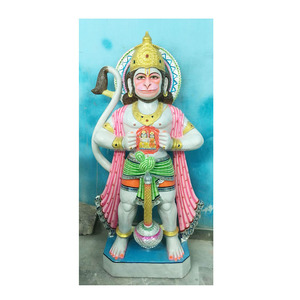 Beautiful Indian God Hanuman Ji Murti