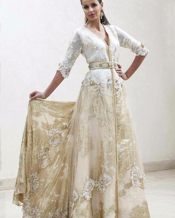 Vestiti Da Sposa Del Marocco.Lavoro Pesante Da Sposa Marocchina Arabo Caftano Buy A Mano In