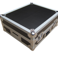 Glide Style Flight Case for DJ Controller with a sliding keyboard tray
