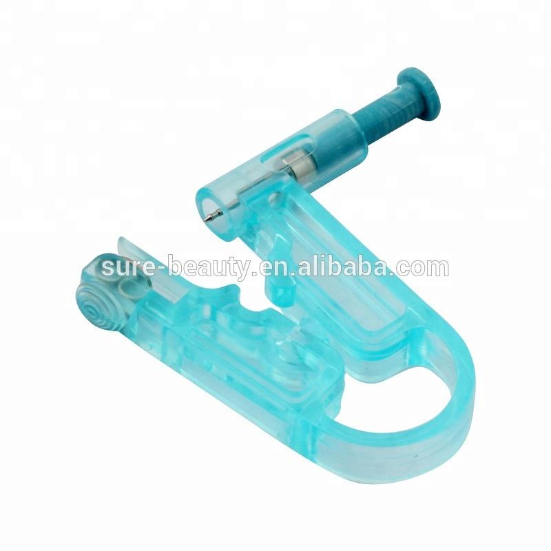 Blue Painless Ear Piercing Kit Disposable Safe Asepsis Body Ear Pierce Kit Ear Stud Tattoo Accessories Tattoo Accesories Tattoo & Body Art