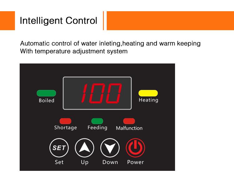 موزع مياه حراري ذكي صغير للأغراض الصناعية