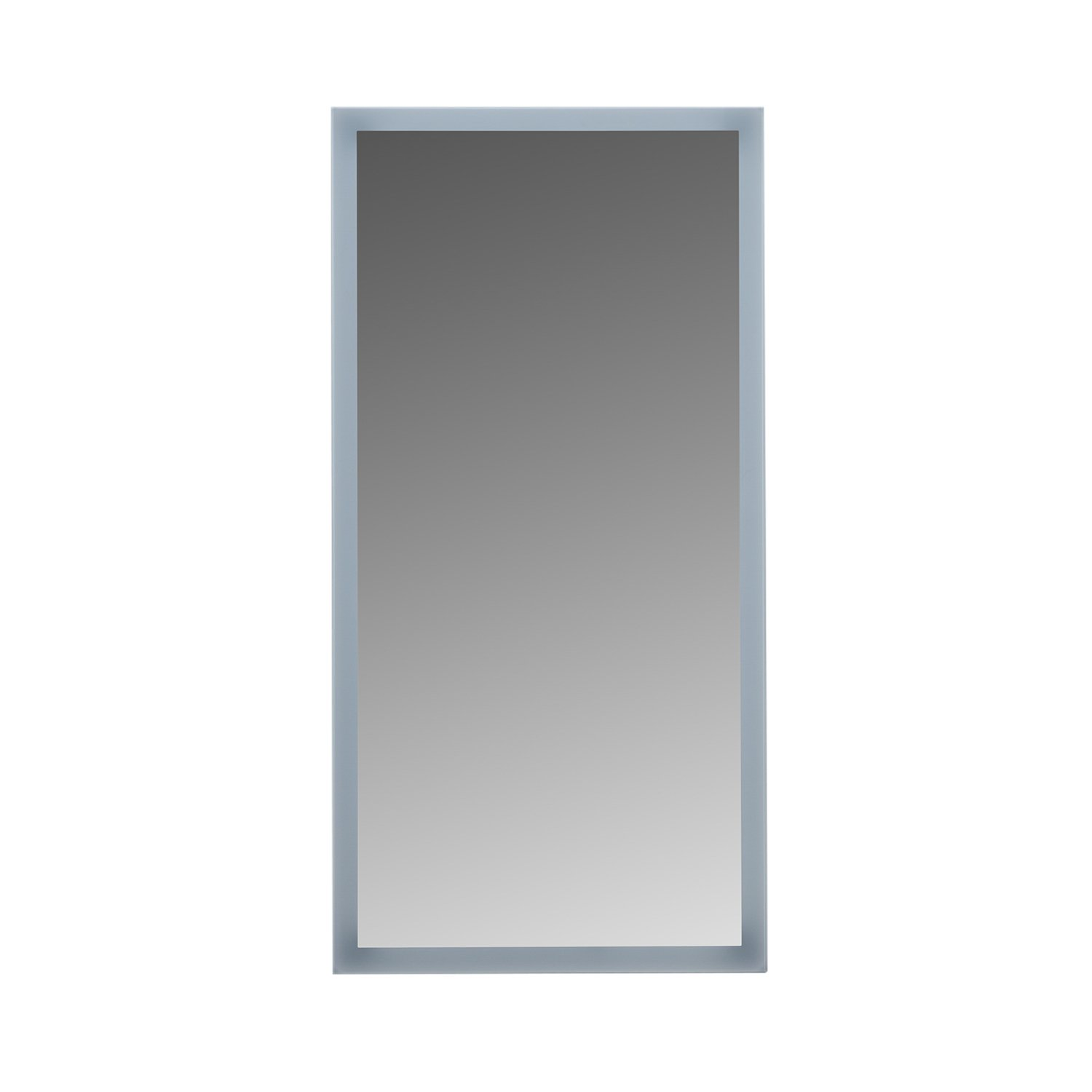 "MAYKKE Isabella 20"" W x 40"" H LED Mirror, Wall Mounted Lighted Bathroom Vanity Mirror, Frameless Mirror, Horizontal or Vertical Mirror with LED Lighting Border UL Certified, LMA1002001"