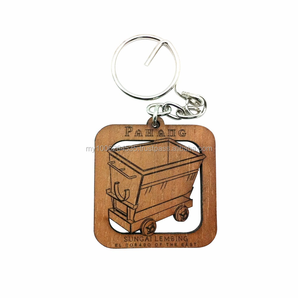 Wooden Key Chain Laser Cut-Customised Design
