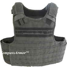 BPV-QC01 NIJ Level IIIA Military Molle Bulletproof Vest, Body Armor With Quick Release System