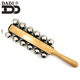 Dadi musical promotion percussion instrument Christmas sleigh bell, rattle shake bell with different choice for event