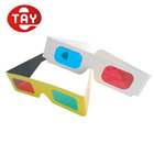 Hot-selling Re-useable Anaglyph 3D Glasses For TV