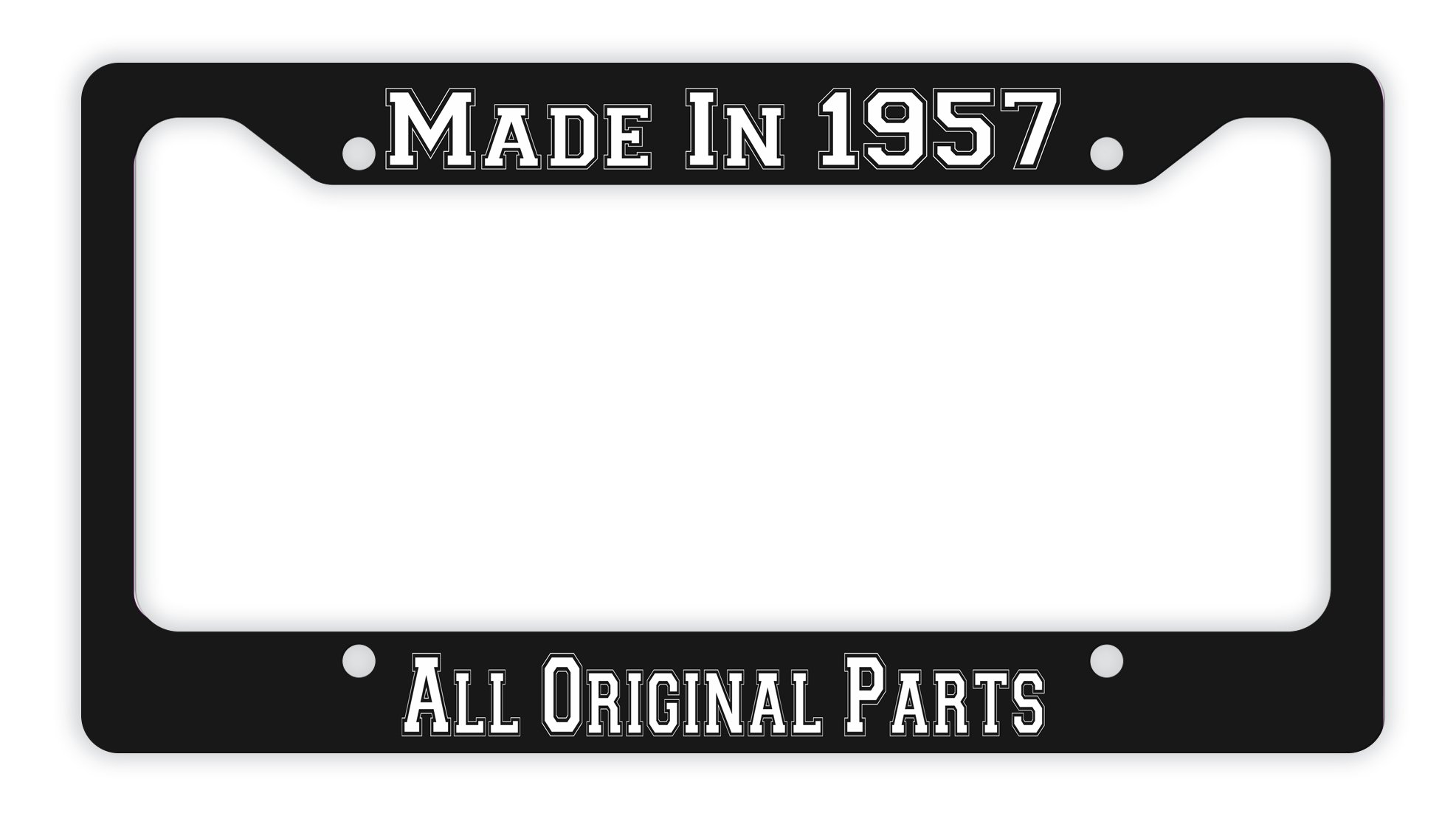 Get Quotations 60th Birthday Gifts Made 1958 All Original Parts Funny For Dad Novelty License