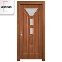 Inexpensive water resistant quality mdf and pvc interior door models
