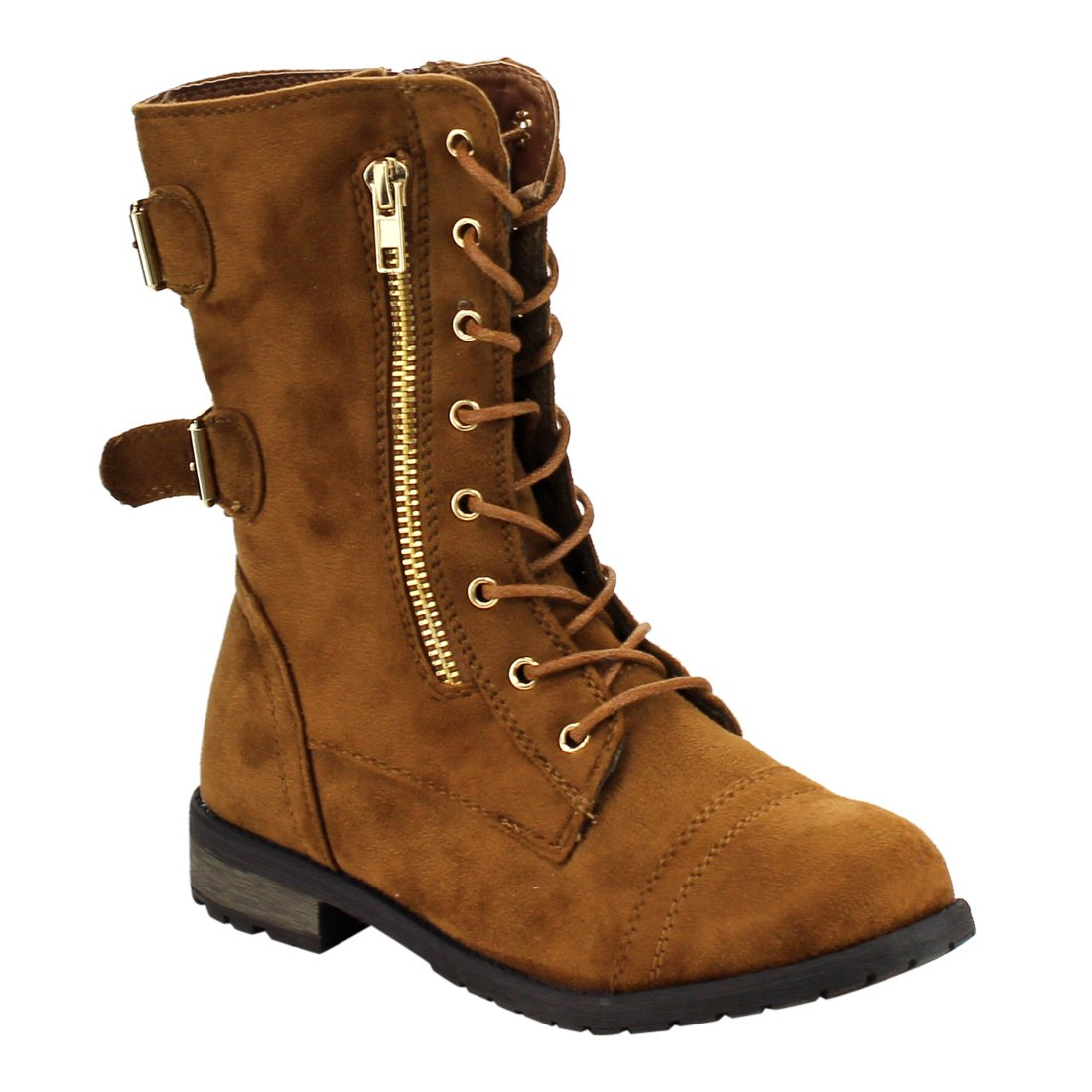 Buy Forever Link NU BUCK LACE UP ALMOND TOE WORKMAN HIGH HEEL ... e2f57d9fa