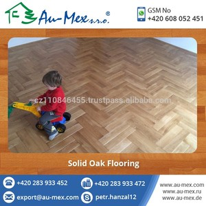 Solid Oak Hardwood Wood Flooring for High Durability