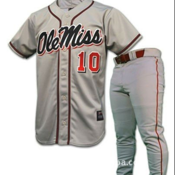 OEM Service Newest model with customizes design baseball uniform for unisex