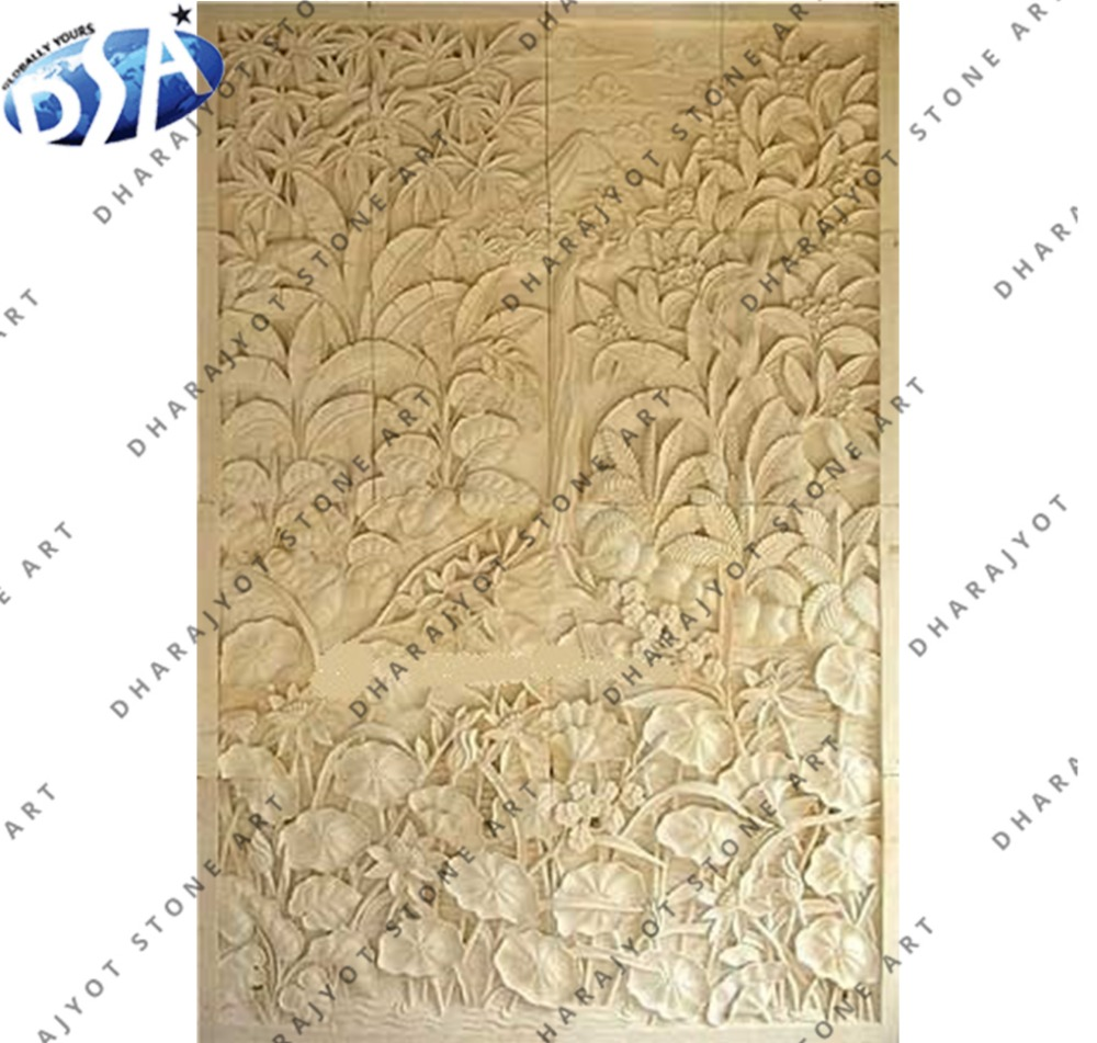 Amazing Carved Wall Art Festooning - Wall Art Collections ...