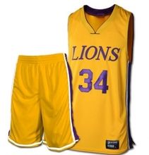 Colourful cheap basketball uniform