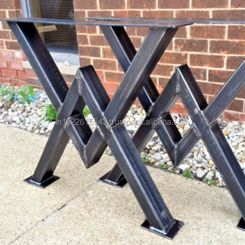 Cast Iron Dining Table Legs Vintage