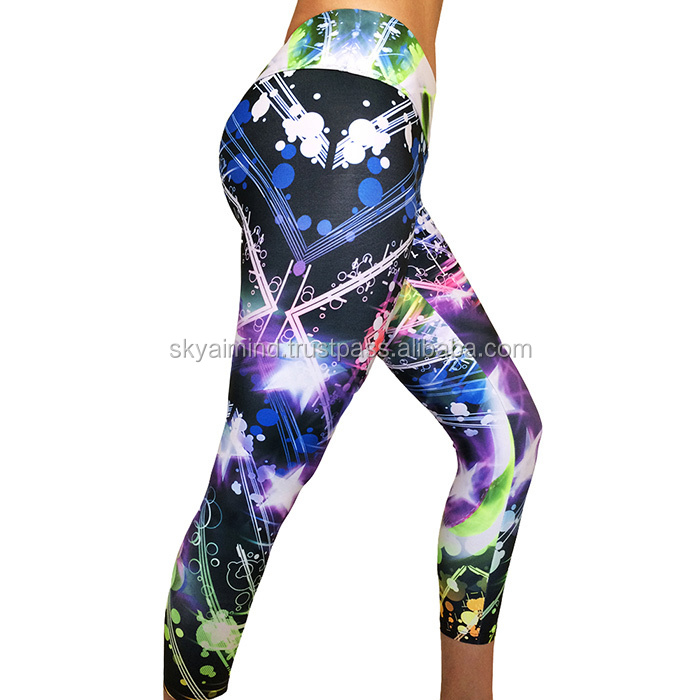 best performance sublimation leggings/ high quality performance sublimation leggings, cotton lycra leggings tights