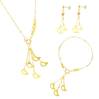 AYW/A 1001(A) Gold Jewellery Set 22k Trending As You Wish Set
