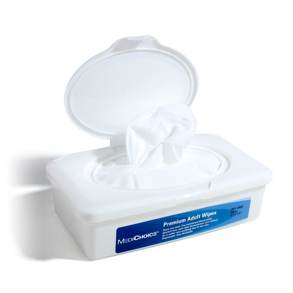 Medichoice premium adult wipes