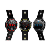 Touch screen L8 Smart Watch ECG IP68 Waterproof relojes inteligentes for Men sport Blood Pressure Heart Rate sports smartwatches