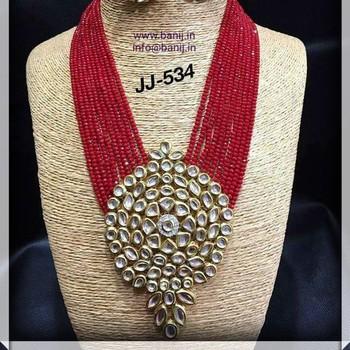 33e8bce08 Beads Kundan Necklace Set - Buy Kundan Jewellery Sets Photos ...